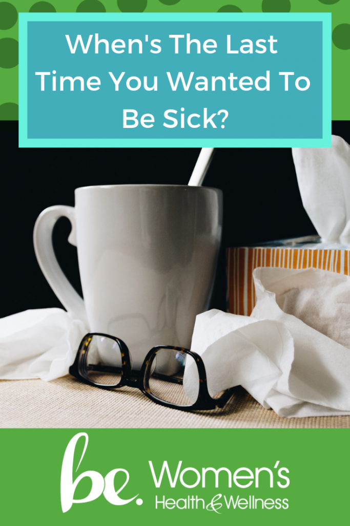 Seriously, when's the last time you found yourself wanting to be sick? Most women find that they just want to be taken care of - like Mom used to when we were little. Dr. Heather Bartos gives us an alternative to a nasty bug. Read on for more MindSHIFT Medicine advice!