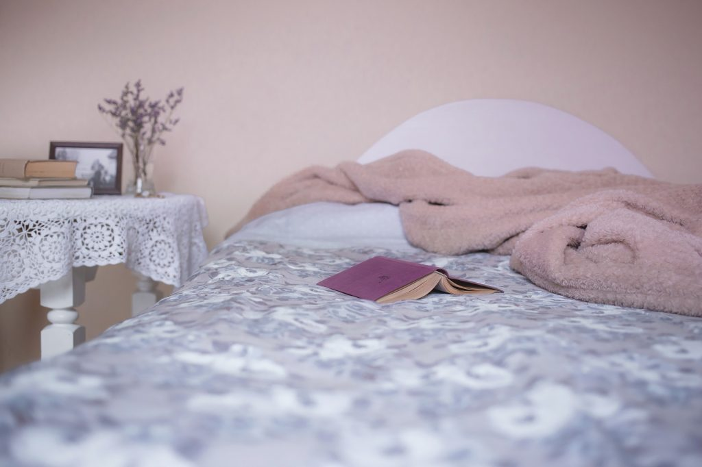 Read a physical book or adjust your blue light settings and other tips for better sleep.