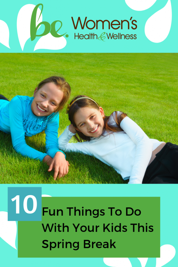 Check out these 10 fun things to do with your kids over Spring Break! (And none of them involve a staycation.)