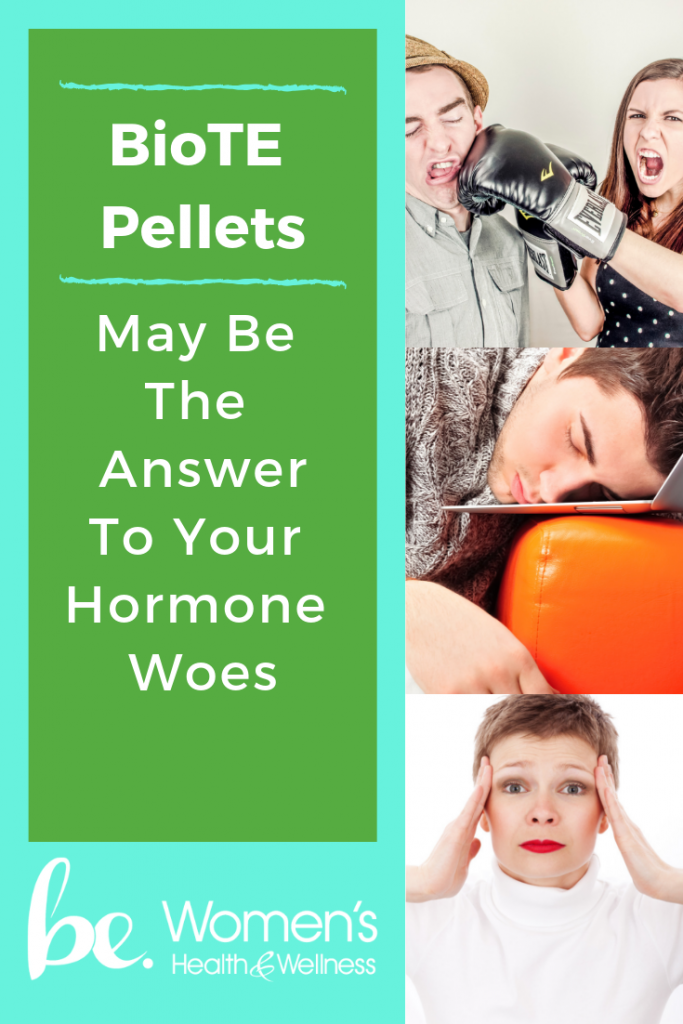 be. Women's Health & Wellness near Frisco, Texas, offers BioTE Pellets for Hormone Replacement Therapy. Learn more about what you can expect from this therapy!